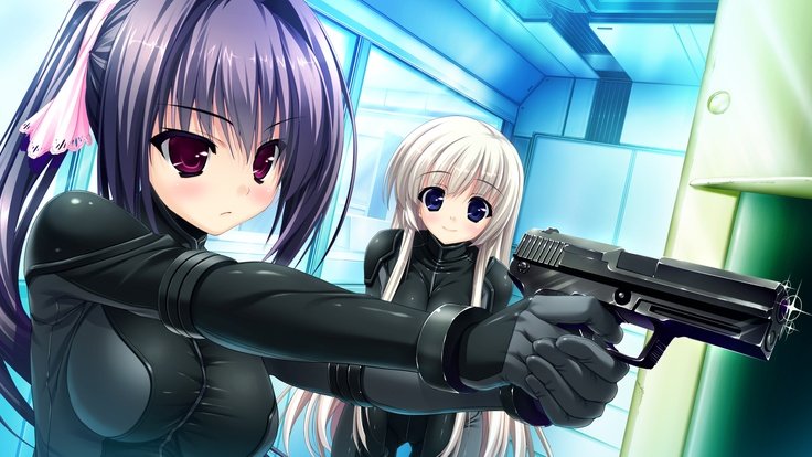 """From the visual novel """"Prism Recollection"""" anime eroge"""