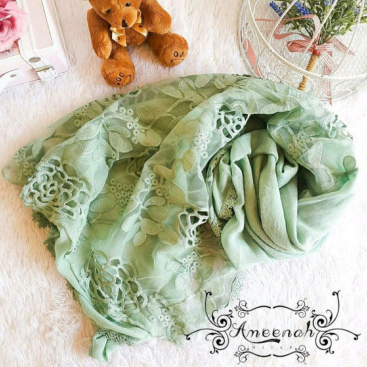 Flower Lace Scarf