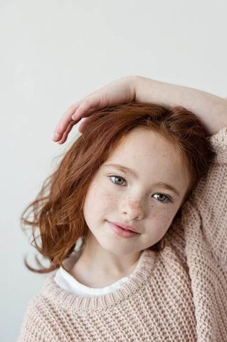 Hoping Aerin turns out like this! Gorgeous ginger curls!