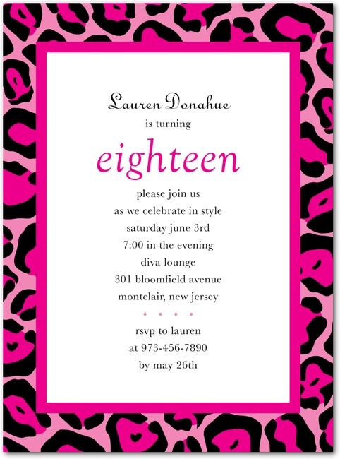 110 best cheetah party them images – Cheetah Birthday Invitations