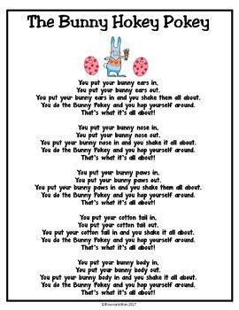 The Bunny Hokey Pokey Song/Poem