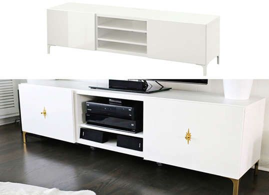 IKEA Hack TV Stand