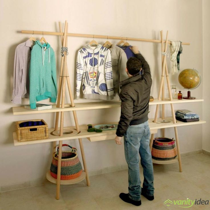 wardrobe shelving design