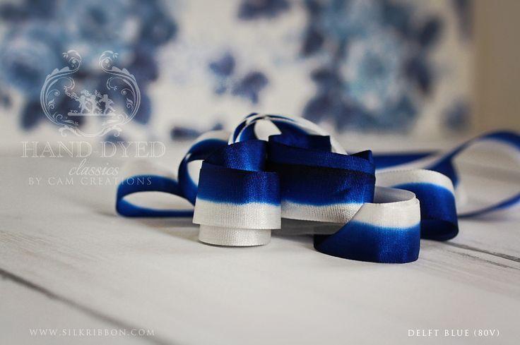 Cam Creations Silk Ribbon- Delft Blue (80V)