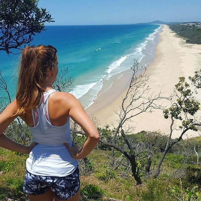 This stunning beach stretches for 15 kilometres and is very popular with surfers, particularly up towards the headland.
