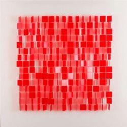 design-is-fine:  Julio Le Parc, mobile rouge, 1962.