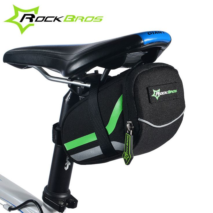 Bicycle Saddle Bags MTB Road Folding Rear Seat Bike Bag Seatpost Cycling Basket Tail Pouch Bicycle Accessories