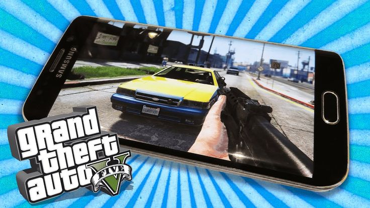 Playing GTA 5 on my Android phone in VR using the Samsung Gear VR