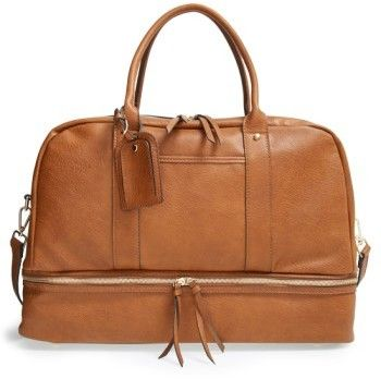 Sole Society Mason Weekend Bag Brown