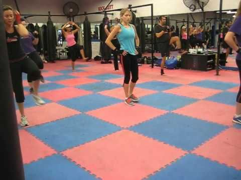20 Minute Cardio Kickboxing Workout. So fast! Looks intense. I gotta try it!