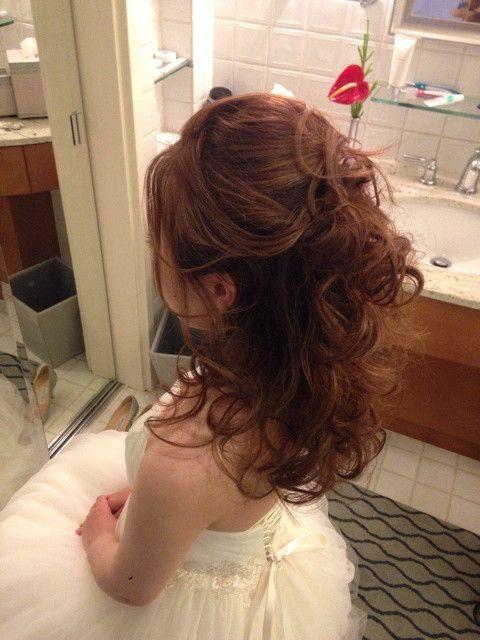 60分のヘアチェンジ の画像|Satomi の ハワイブライダルヘアメイク 『Satomi no sonogo』