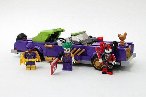 The #LEGO #Batman Movie The #Joker Notorious Lowrider (70906) - http://www.thebrickfan.com/the-lego-batman-movie-the-joker-notorious-lowrider-70906-review/