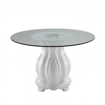 Napoleon dining table by cort events add glass and glam to your next big