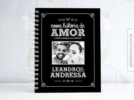 PhotoBook Nossa História - scrapbook, álbum, personalizado, amor, namorado, livro, casal, criativo, namoro, assinatura