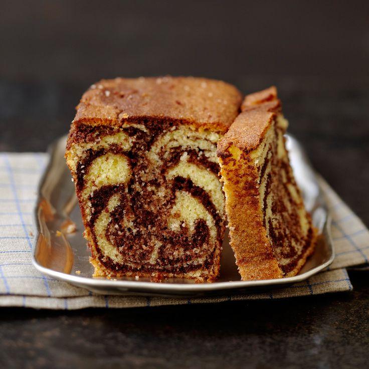 Cake marbré facile