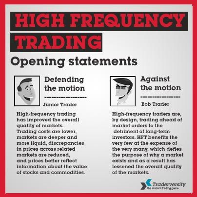 What Is HFT in Online Trading?   executium Trading System