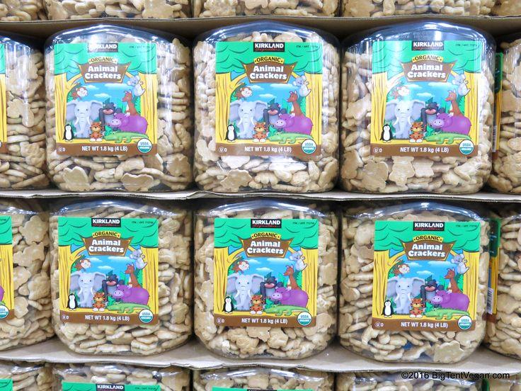 Organic Animal Crackers by Kirkland #costco