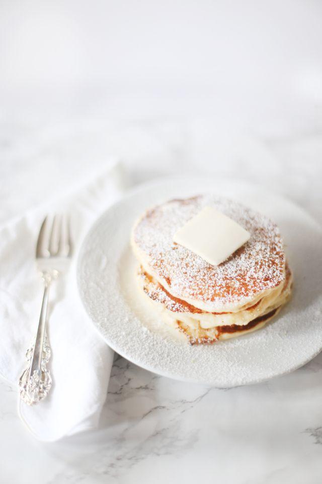 ... lemon ricotta pancakes ...