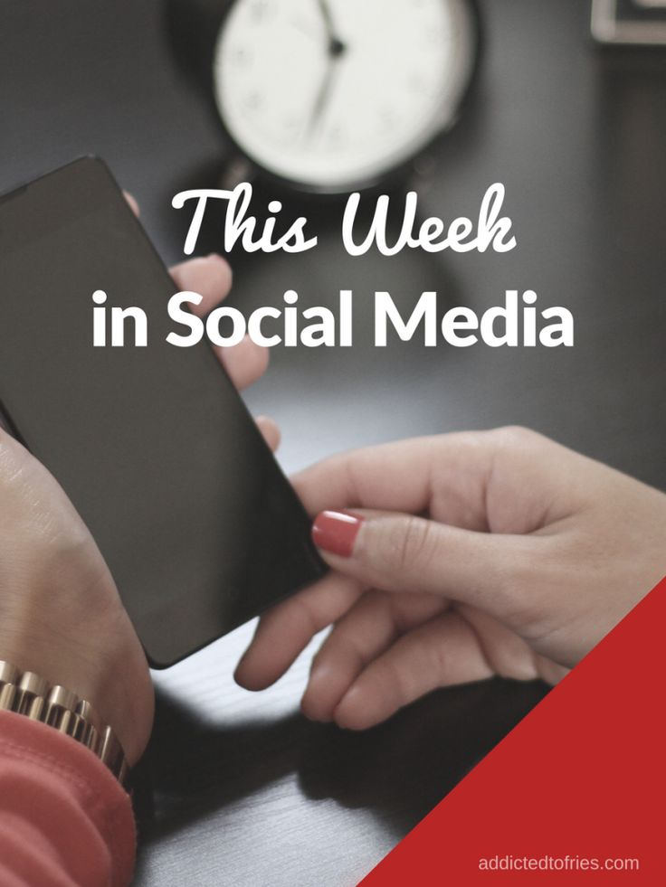 this week in social media news