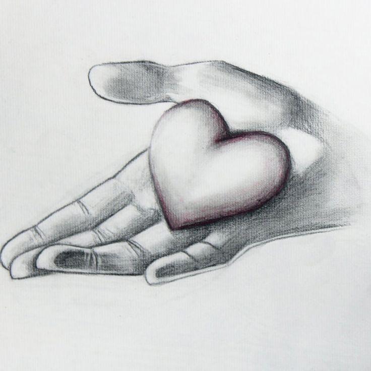 Нарисованная картинка любимому