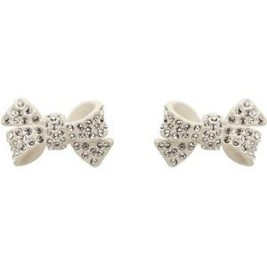 Mimco Bow Diamante Studs [stolen]