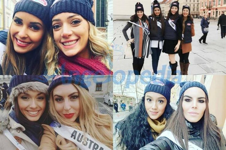 Miss Supranational 2016 contestants are touring around Warsaw, Poland