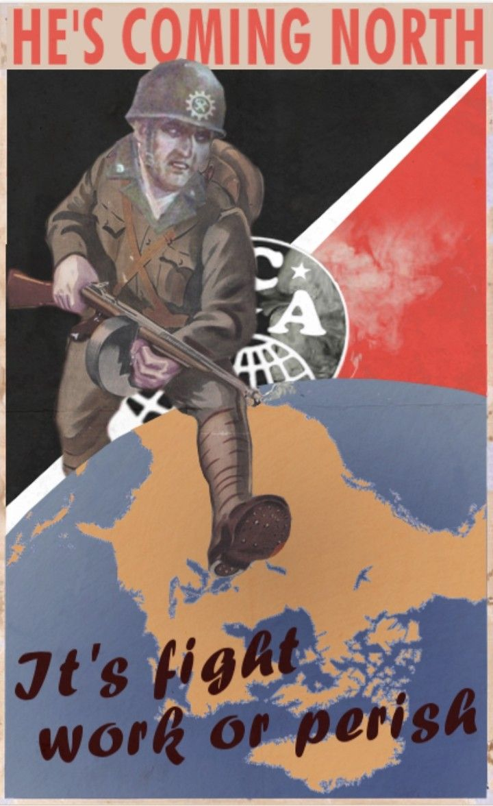 Kaiserreich He S Coming North Canada 1939 In 2020 Alternate History Political History Military Diorama