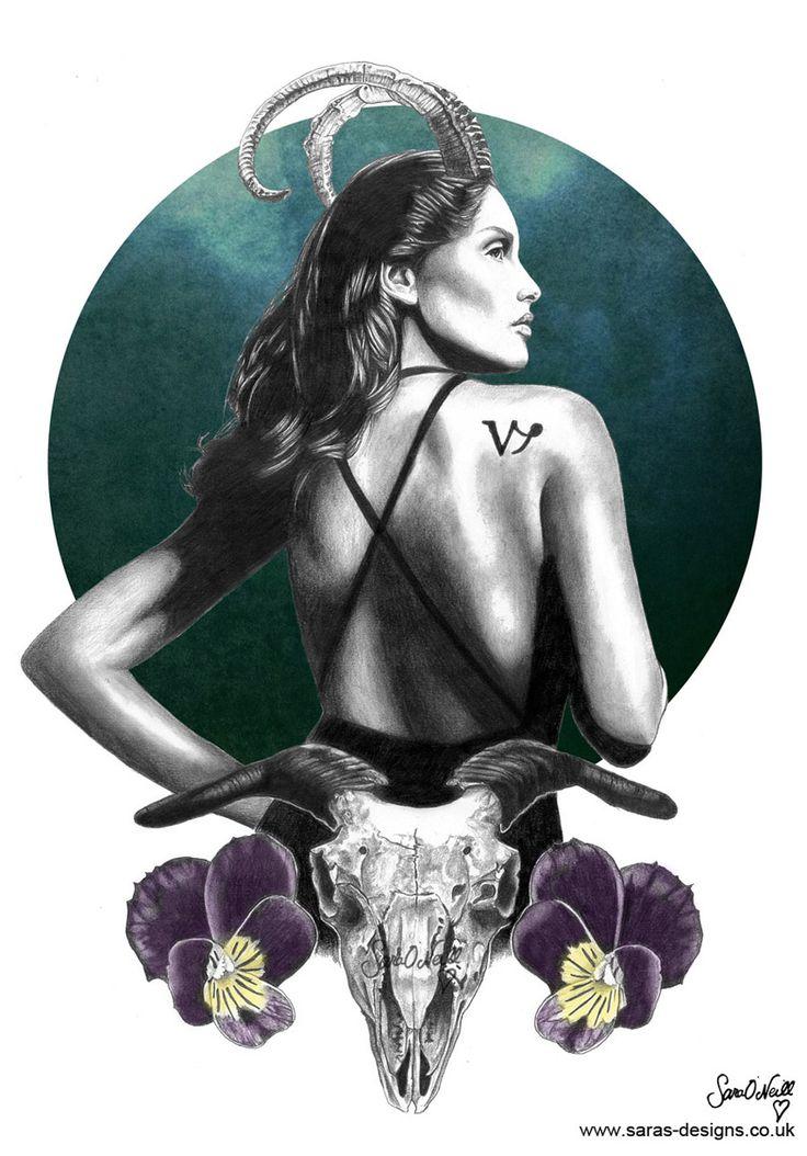 The second in my Zodiac Series: Capricorn