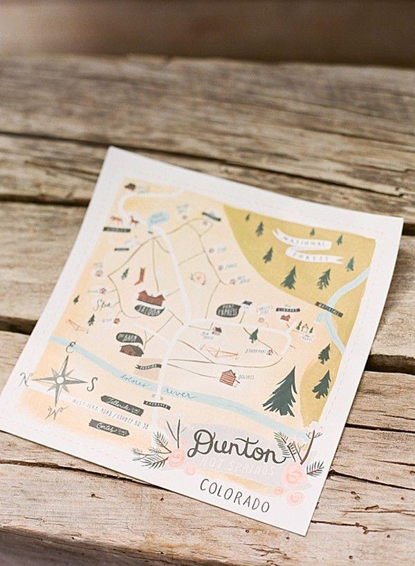 Dunton Colorado Map Romantic Mountain Wedding at Dunton Hot Springs Colorado | Wedding