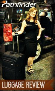 Check It Out! Pathfinder Luggage Review & Giveaway