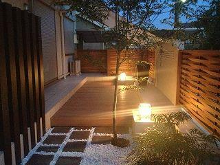 生駒市 M邸 玄関周りリフォーム 目隠しフェンス