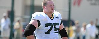 Bryan Bulaga is stoning everybody