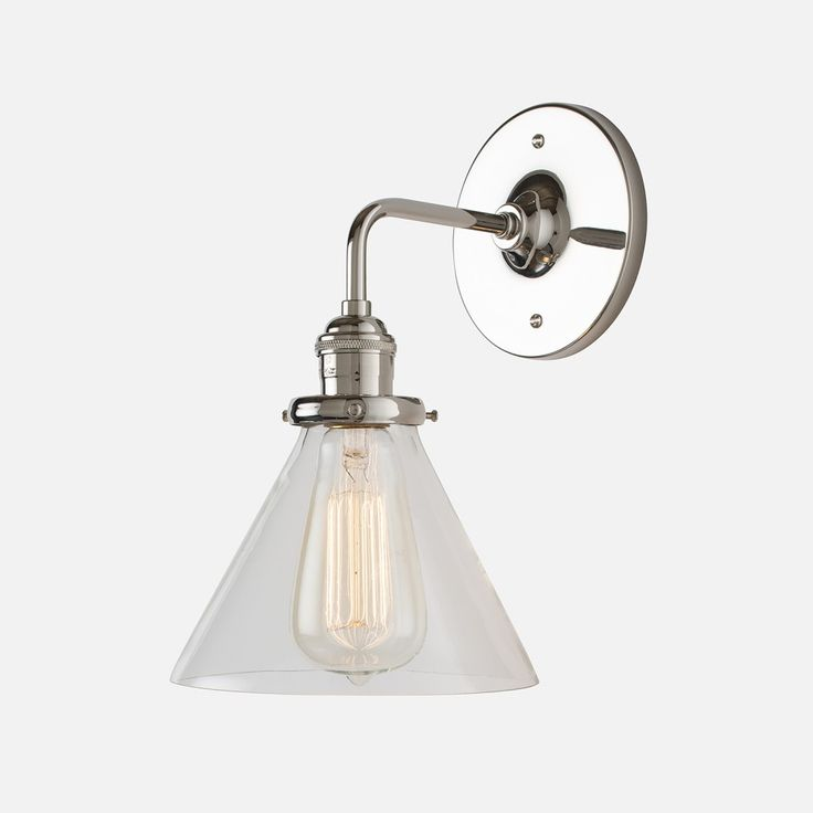 Orbit Wall Sconce Schoolhouse Electric And Supply Co : 17 Best images about Bathroom on Pinterest Polished nickel, White subway tiles and Polished chrome