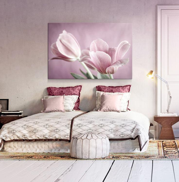 Cuadro decorativo Romantic Tulips