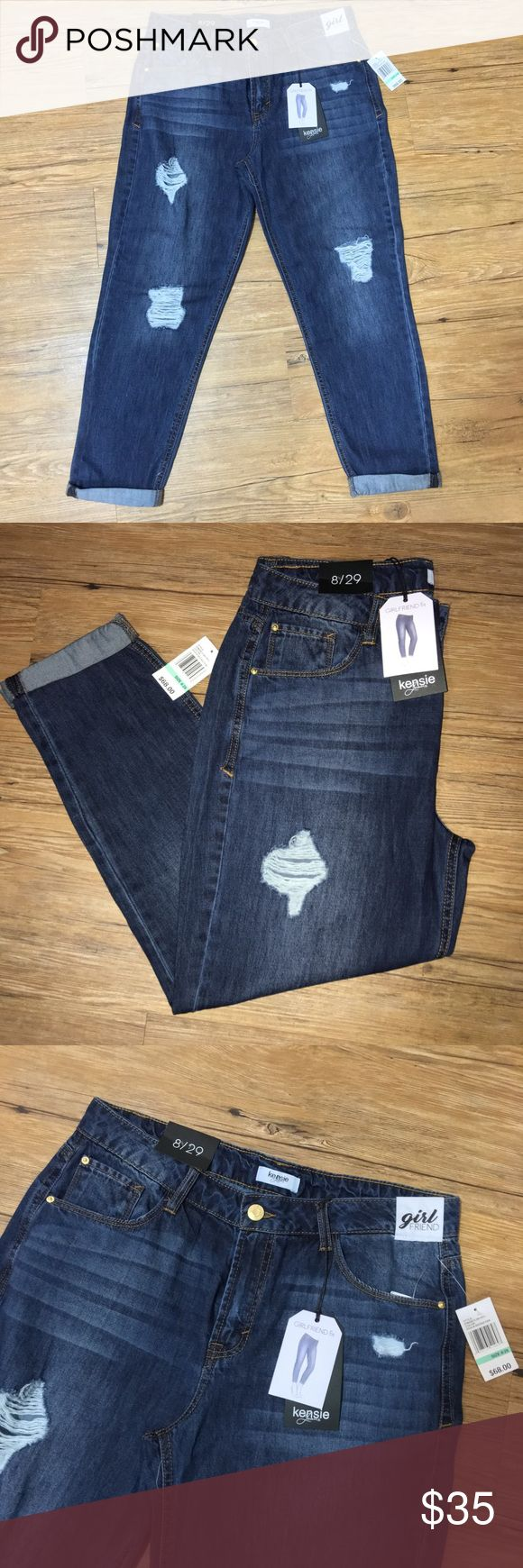 Kensie Jeans Girlfriend Fit New with tags measurements coming soon! Kensie Jeans