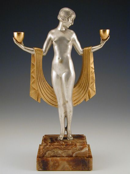190 Best Art Deco Figurines,Statues Images On Pinterest | Art