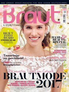 Braut & Bräutigam – Ausgabe 4-2016 #Hochzeitsmagazin #Brautmagazin #Hochzeitsmode #weddingfashion #weddingdresses #brautkleider