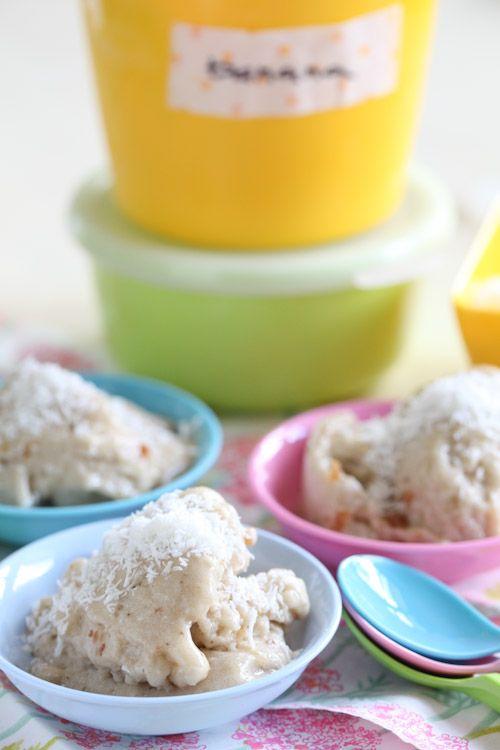 Banana, Date & Coconut Raw Ice Cream