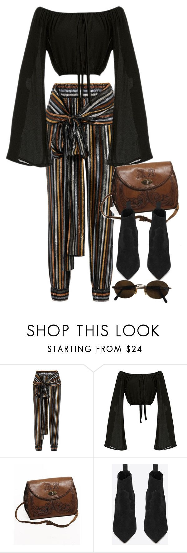 """""""Untitled #10645"""" by nikka-phillips ❤ liked on Polyvore featuring Haney, INDIE HAIR, Yves Saint Laurent and Moschino"""