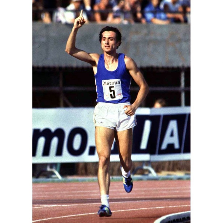 Pietro Mennea: 1980 Moscow Olympic 200 meter champion. He held the 200 m world record for 17 years with his time of 19.72, set in September 1979