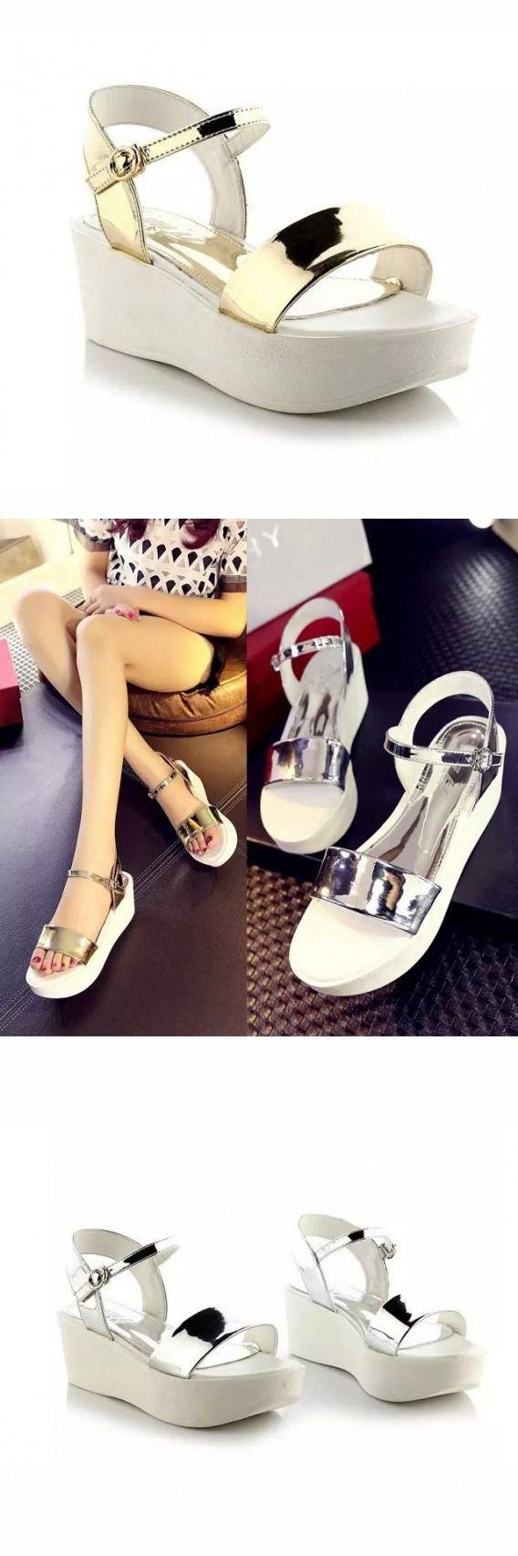 Whitened Dressy New Sandals Rubber Sole Neon Office Sandals Pump Pedicure Little…