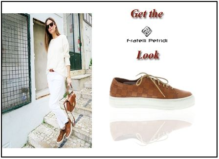 #fratellipetrdi #getthelook #summer #sneakers #cognac #comfortable #sporty #shoes #fashion