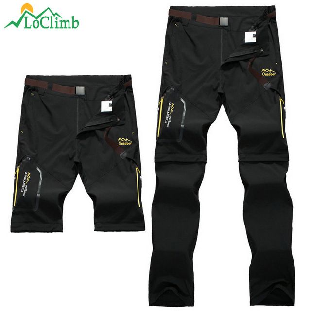 6297d1b7dbfb7 LoClimb Men Women Stretch Waterproof Camping Hiking Pants Outdoor Sport Trousers  Trekking Mountain Climbing Fishing Pants