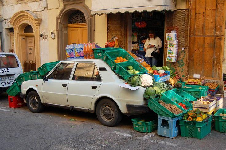 Shopping in Valetta,Malta