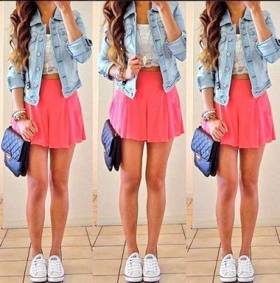 skater skirt!! love it | on Fashionfreax you can discover new designers, brands  trends.