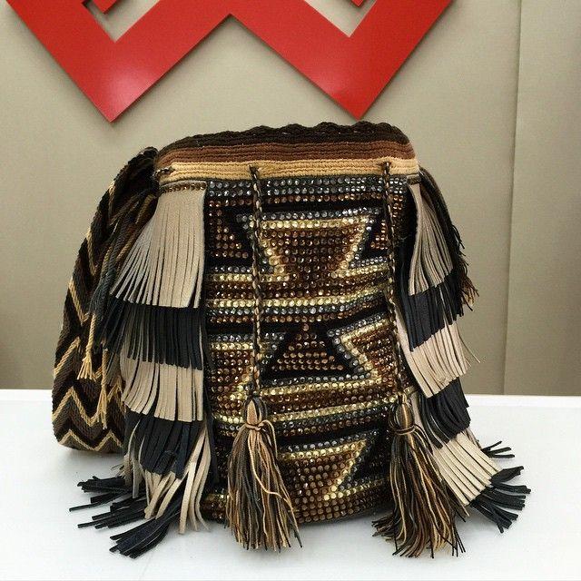 Beautiful #BohoChila with two leather colors!  #BeBoldFeelHappyGiveBackLookFab #Luxchilas
