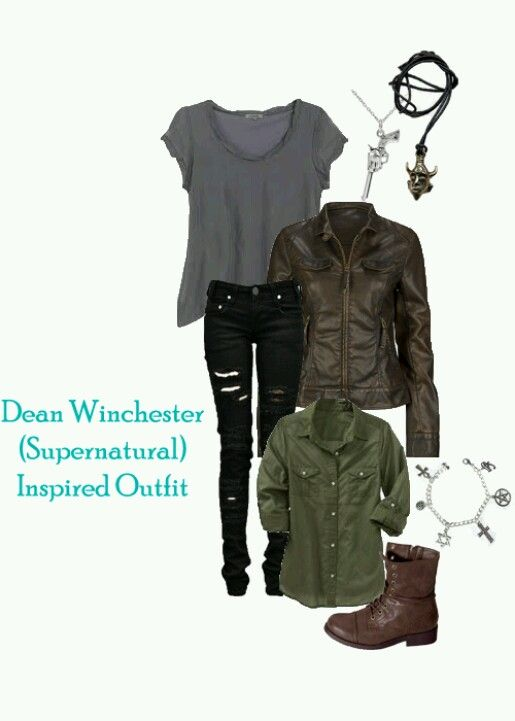 Supernatural Inspired Outfit {Dean} I'd wear this. What about you guys?