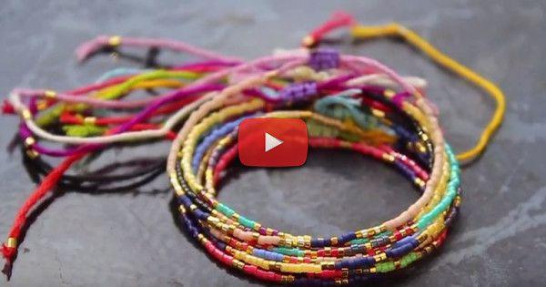 Dans ce tuto découvrez comment créer des bracelet en perles miyuki ou perles de rocailles que vous pourrez mettre et retirer à ta convenance... parfait pour la plage !
