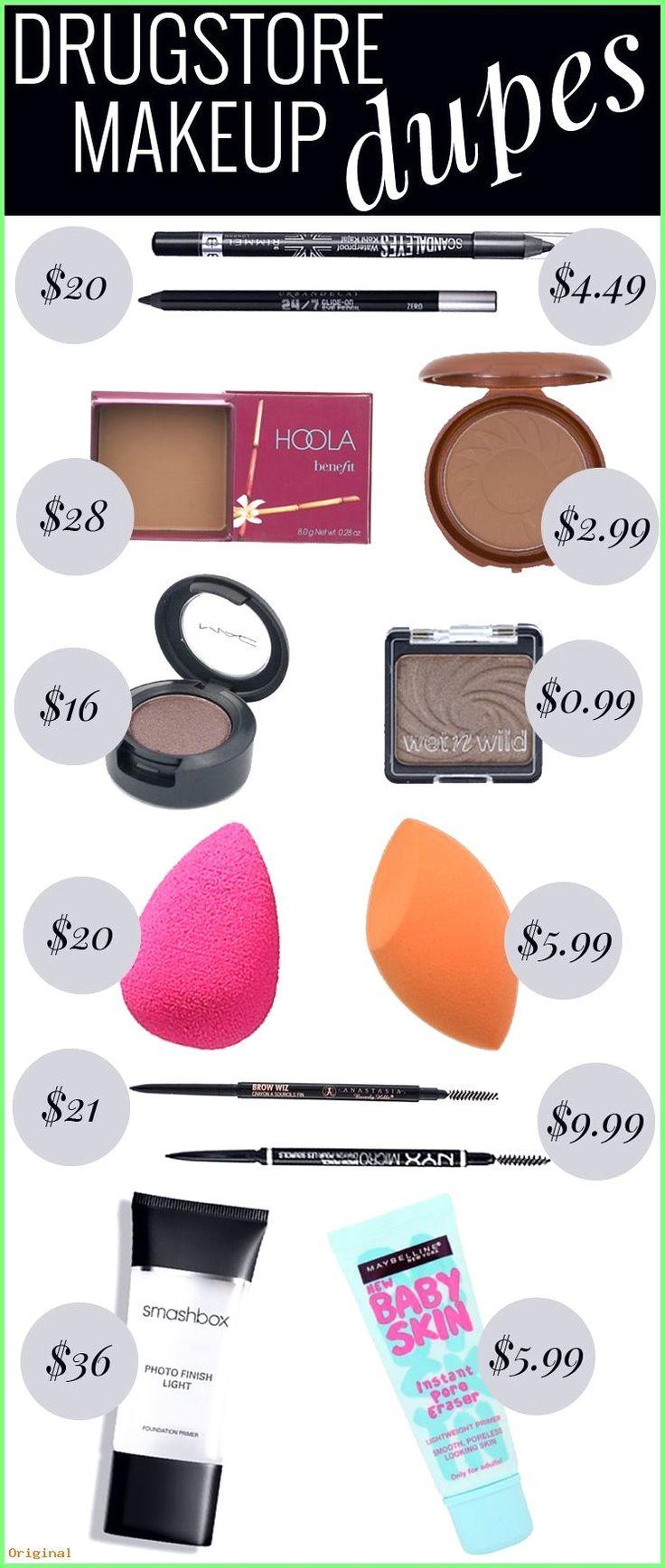 50+ Hautpflege – Drogerie Makeup Dupes – liebe mich ein guter Betrüger !!! #beautyhacks #ha…