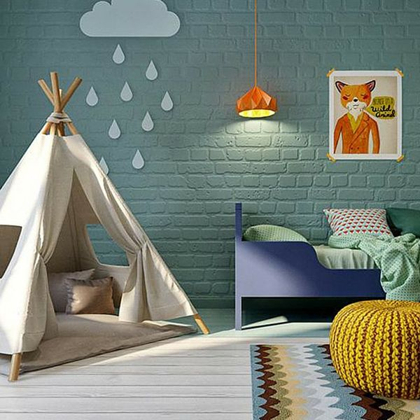 kids room cgi - find your Vilac teepee at cultfurniture.com